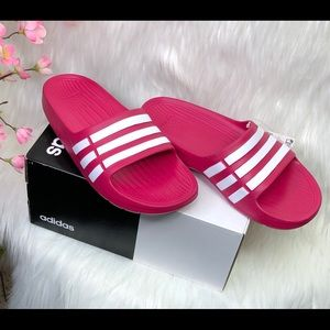 adidas slides sandals sport size:4